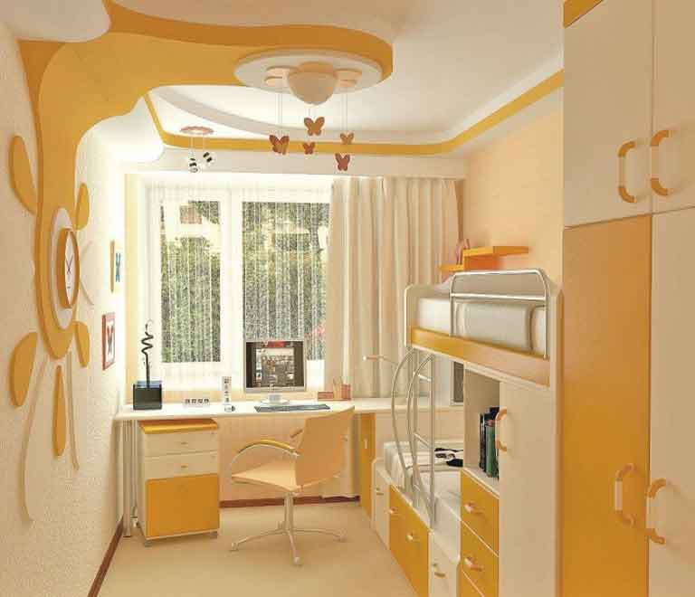 Пример ремонта детской комнаты